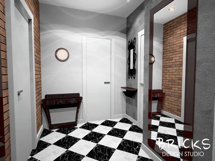 Легкость лофта: Коридор и прихожая в . Автор – Bricks Design