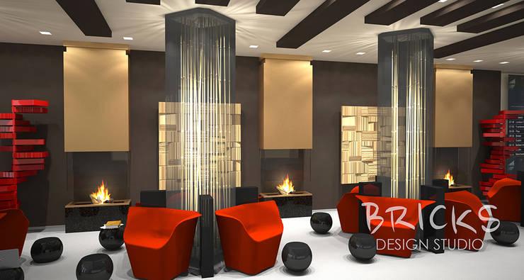 Бизнес лаундж: Аэропорты и морские порты в . Автор – Bricks Design