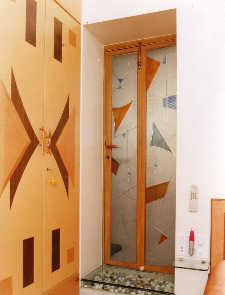 Apartment:  Corridor & hallway by NAMAN INTERIORS - Turnkey Interior Contractors