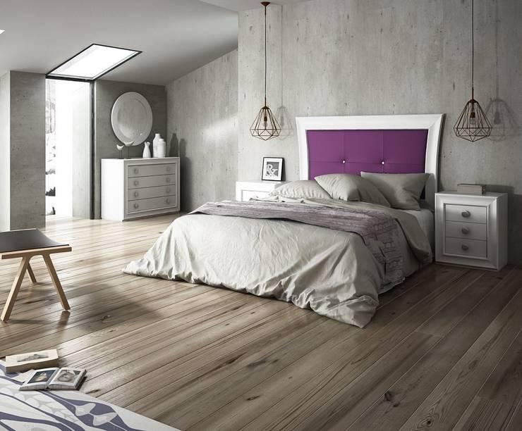 Dormitorios de estilo moderno por MUEBLES MIA