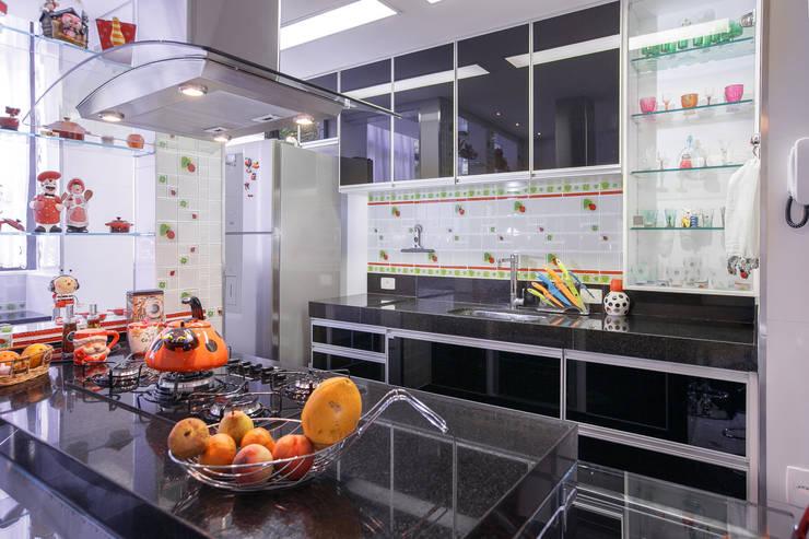 Cozinha: Cozinhas modernas por Mágda Braga Interiores