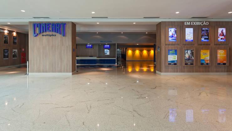 Projeto Comercial - Cineart: Shopping Centers  por Dubal Arquitetura e Design