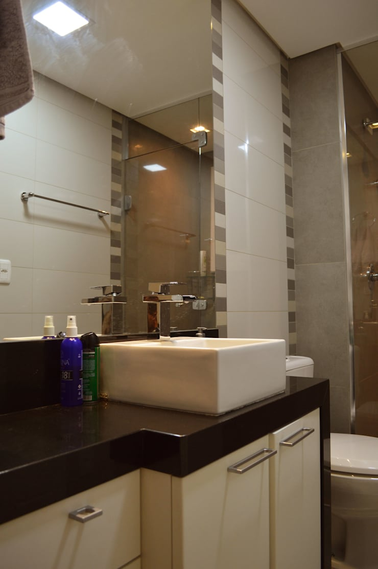 Apartamento JEI por Plano 1 Arquitetura Moderno