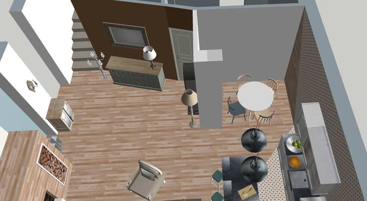 Comedores de estilo  por T_C_Interior_Design___, Clásico