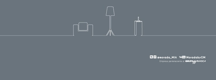 Redes Sociales: Salas / recibidores de estilo  por MORADA CENTRO DE DISEÑO S.A.