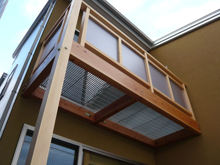 Patios & Decks by 設計工房 A・D・FACTORY 一級建築士事務所, Eclectic