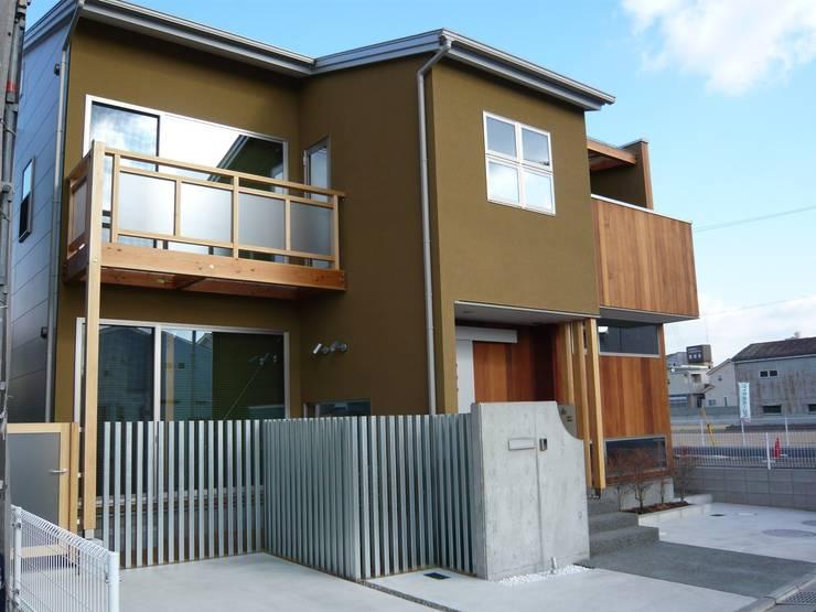 Häuser von 設計工房 A・D・FACTORY 一級建築士事務所, Ausgefallen