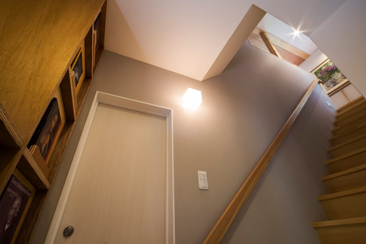 ほんとのいえ: スズケン一級建築士事務所/Suzuken Architectural Design Officeが手掛けた廊下 & 玄関です。