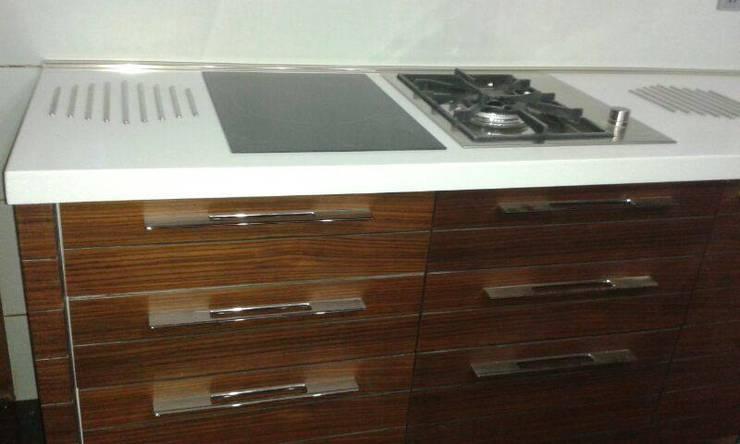 Commercial: modern Kitchen by homecenterktm