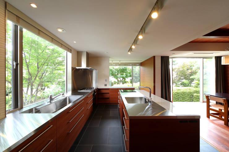 世田谷区K邸 モダンな キッチン の 一級建築士事務所マルスプランニング合同会社 モダン