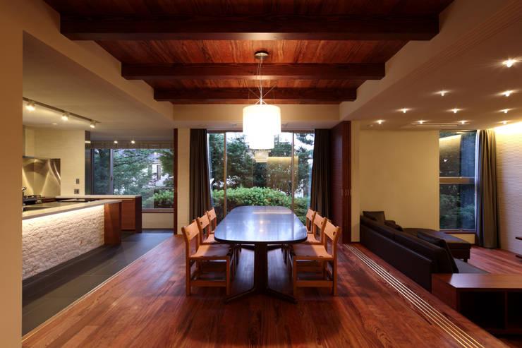 世田谷区K邸: 一級建築士事務所マルスプランニング合同会社が手掛けたダイニングです。