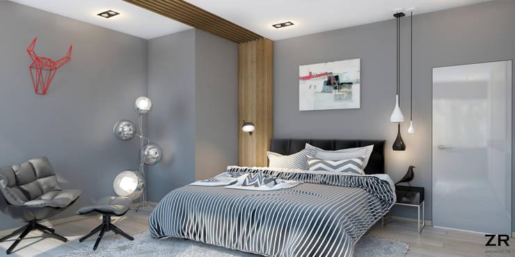 Jules César: Chambre de style  par ZR-architects