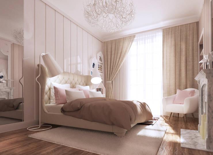 Beausoleil: Chambre d'enfant de style  par ZR-architects