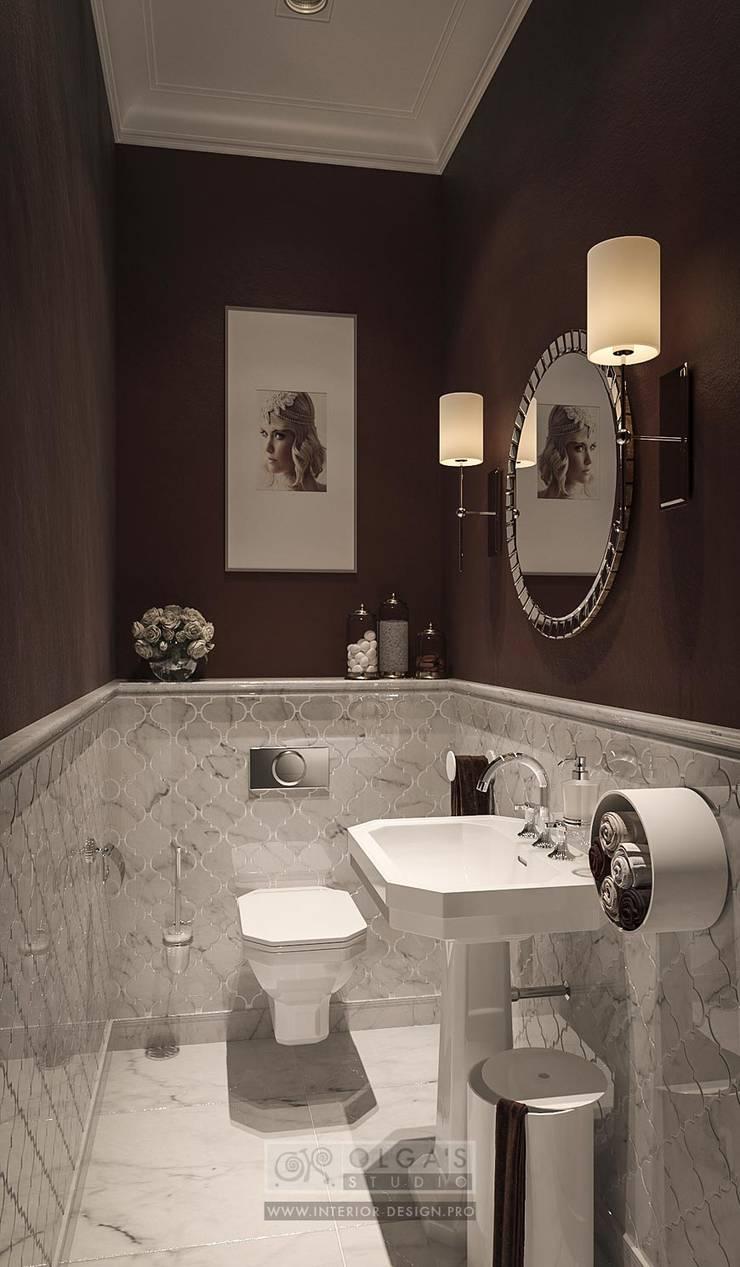 Функционал в дизайне интерьера спа-салона: Ванные комнаты в . Автор – Olga's Studio,