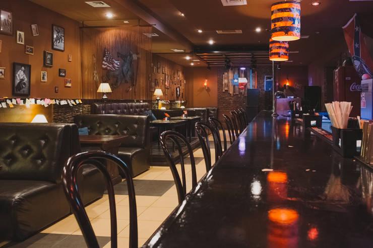 Кафе-бар  ул. Екатерининская  130 кв.м: Ресторации в . Автор – Дизайн студия fabrika