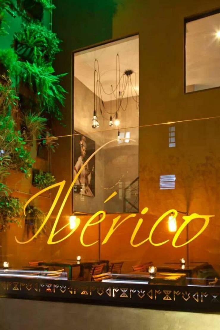 Restaurante Sustentável - Ibérico: Espaços gastronômicos  por BF Sustentabilidade, Arquitetura e Iluminação