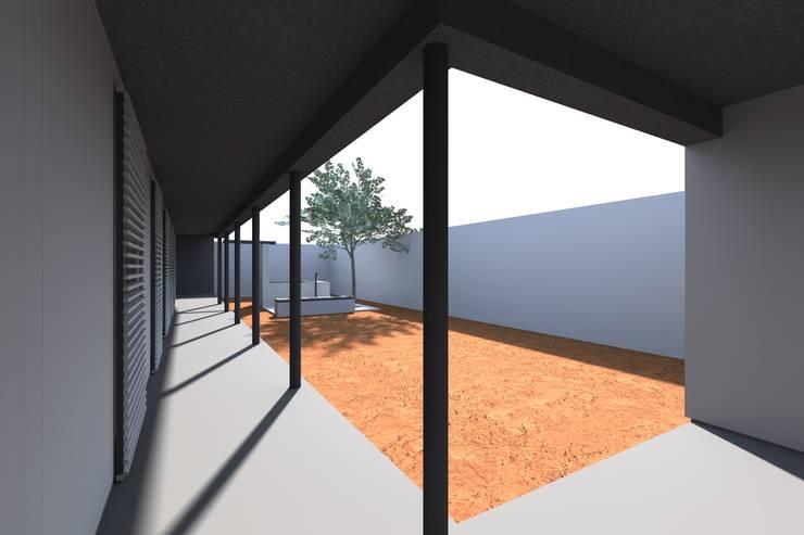 House in Luanda: Casas  por FILIPE SARAIVA - ARQUITECTOS, LDA