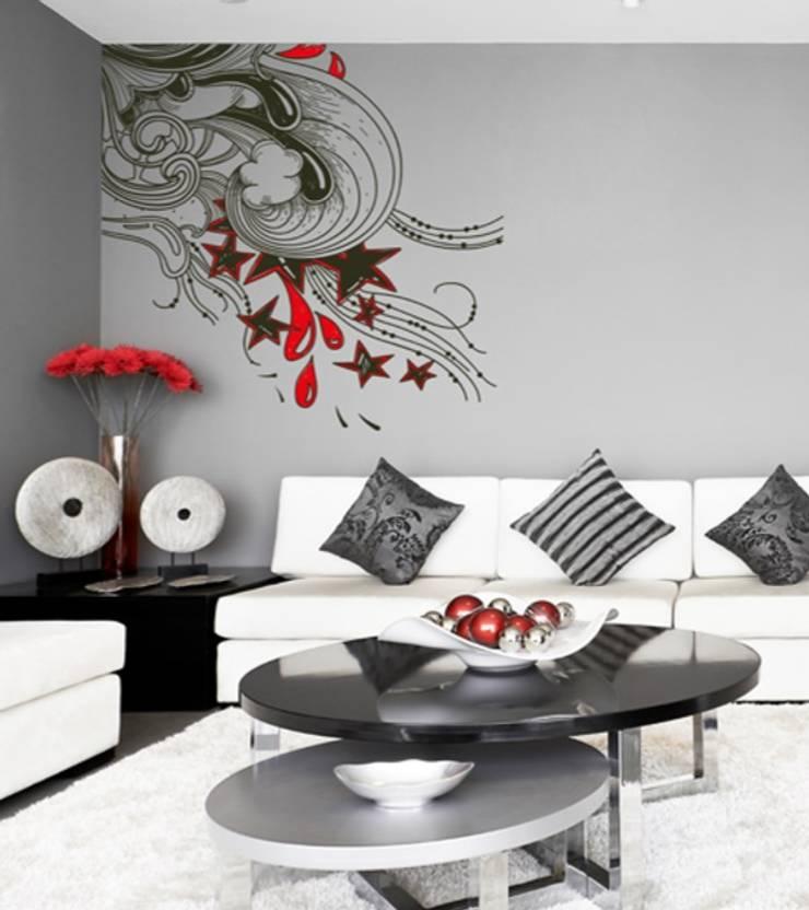Vinil Decorativo: Sala de estar  por Formafantasia