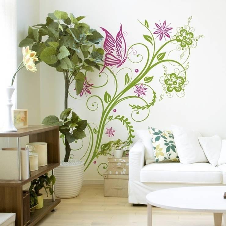 modern Living room تنفيذ Formafantasia