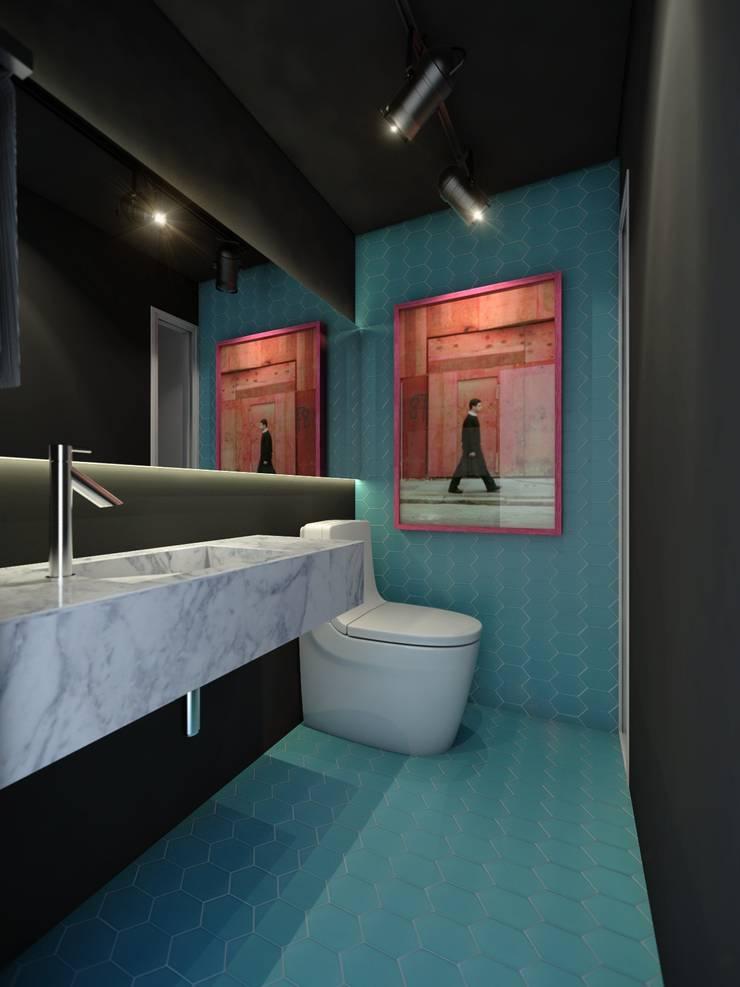 Lavabo:   por Almeida Arquitetos
