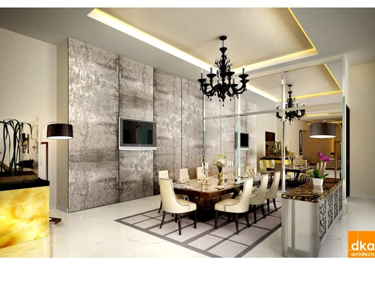 Dining room by Dutta Kannan architects