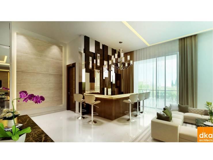 Dining room by Dutta Kannan architects , Modern