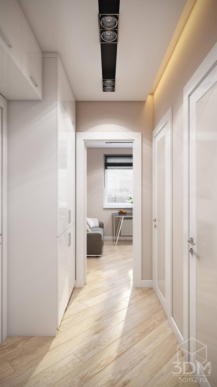 Проект 046: квартира на Борисовских прудах: Коридор и прихожая в . Автор – студия визуализации и дизайна интерьера '3dm2'