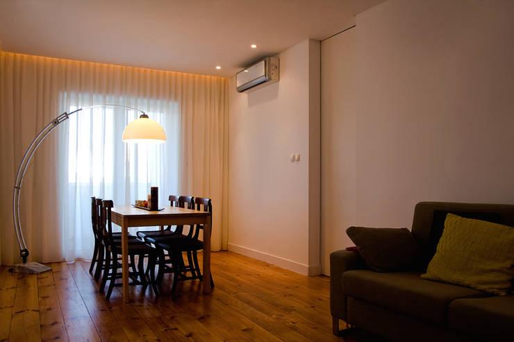 Apartamento CT: Salas de estar  por involve arquitectos