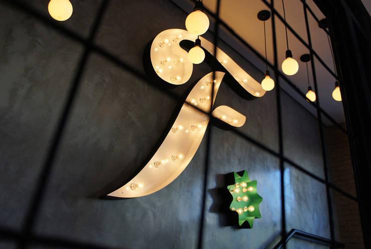 Fresto - Detalhe: Espaços gastronômicos  por Atmosfera Arquitetura Sociedade Ltda