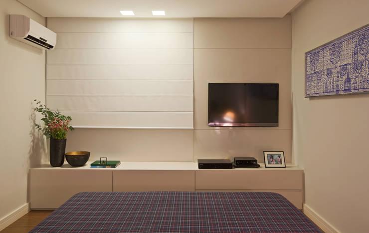 Apartamento Funcionários: Quartos  por Dubal Arquitetura e Design,