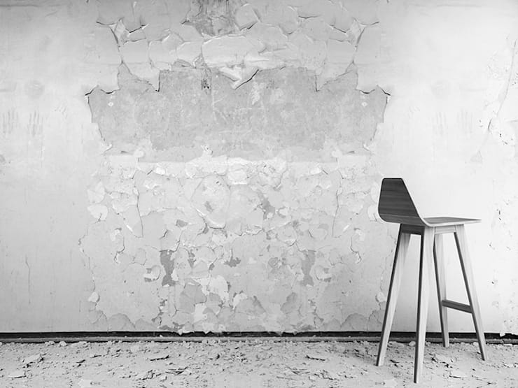 FORM  hoker: styl , w kategorii  zaprojektowany przez Iwona Kosicka Design,Minimalistyczny Drewno O efekcie drewna