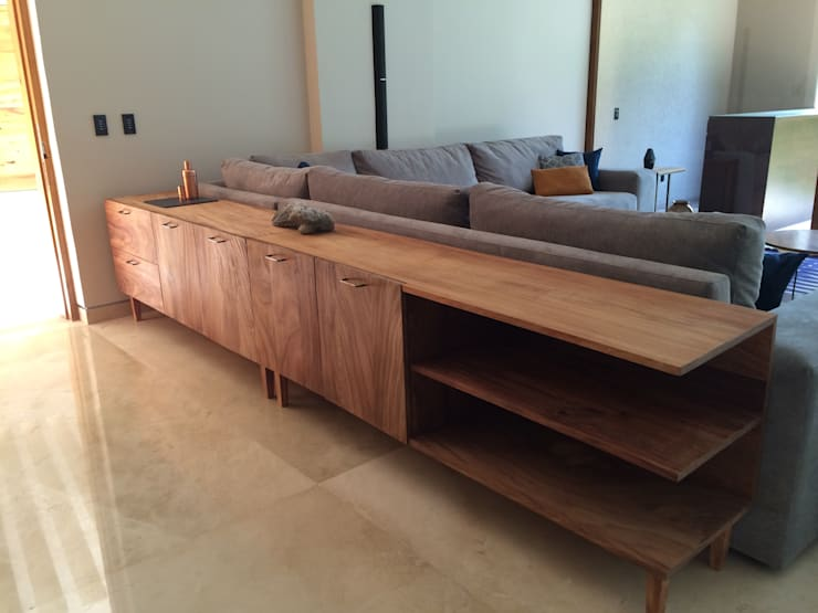 Trinche AZ: Hogar de estilo  por Gran Llave Studio 'tu acceso al mundo del diseño'