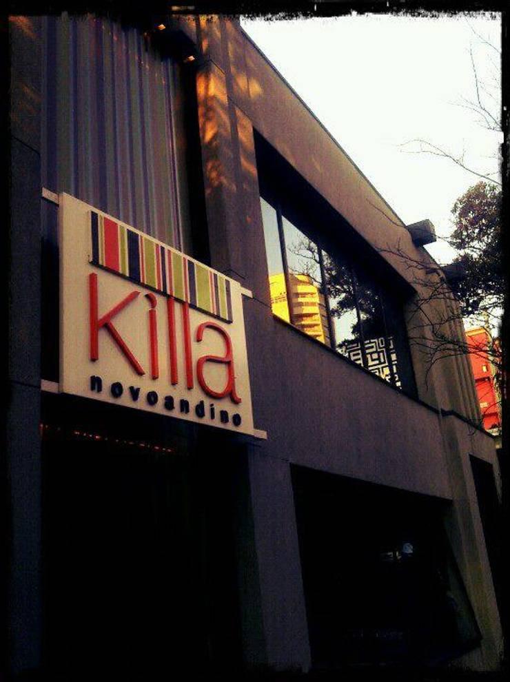 Killa: Espaços gastronômicos  por Atmosfera Arquitetura Sociedade Ltda