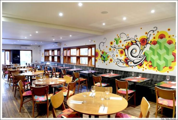 Nama Baru: Espaços gastronômicos  por Atmosfera Arquitetura Sociedade Ltda