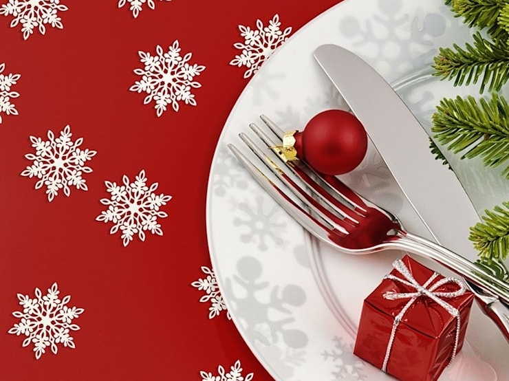 Dekoracje na Święta Bożego Narodzenia: styl , w kategorii Salon zaprojektowany przez AleChoinka! Choinki i dekoracje świąteczne