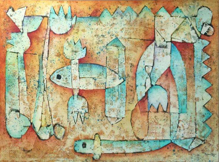 Fósiles, Ibarra 2014 : Arte de estilo  por Estudio Negro