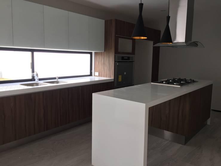 Kitchen by SANTIAGO PARDO ARQUITECTO, Modern