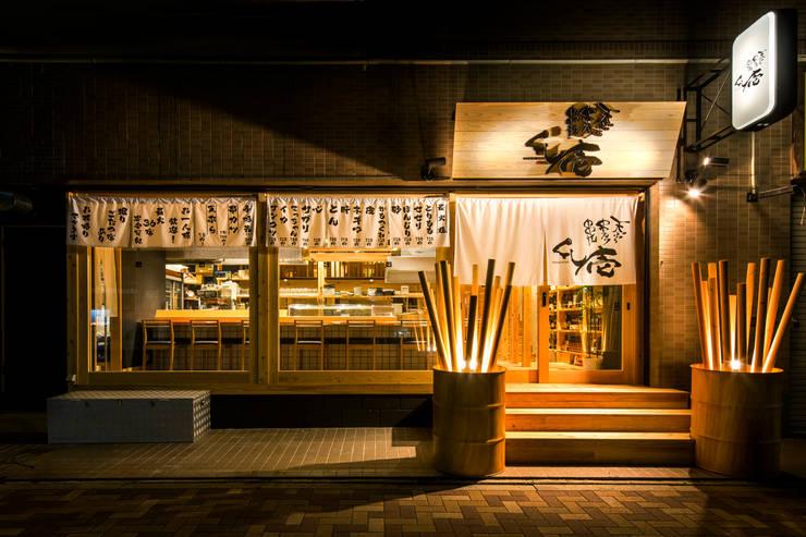 ファサード: TOが手掛けたレストランです。,