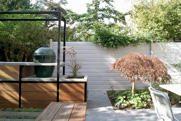 Jardin moderne par House of Green Moderne