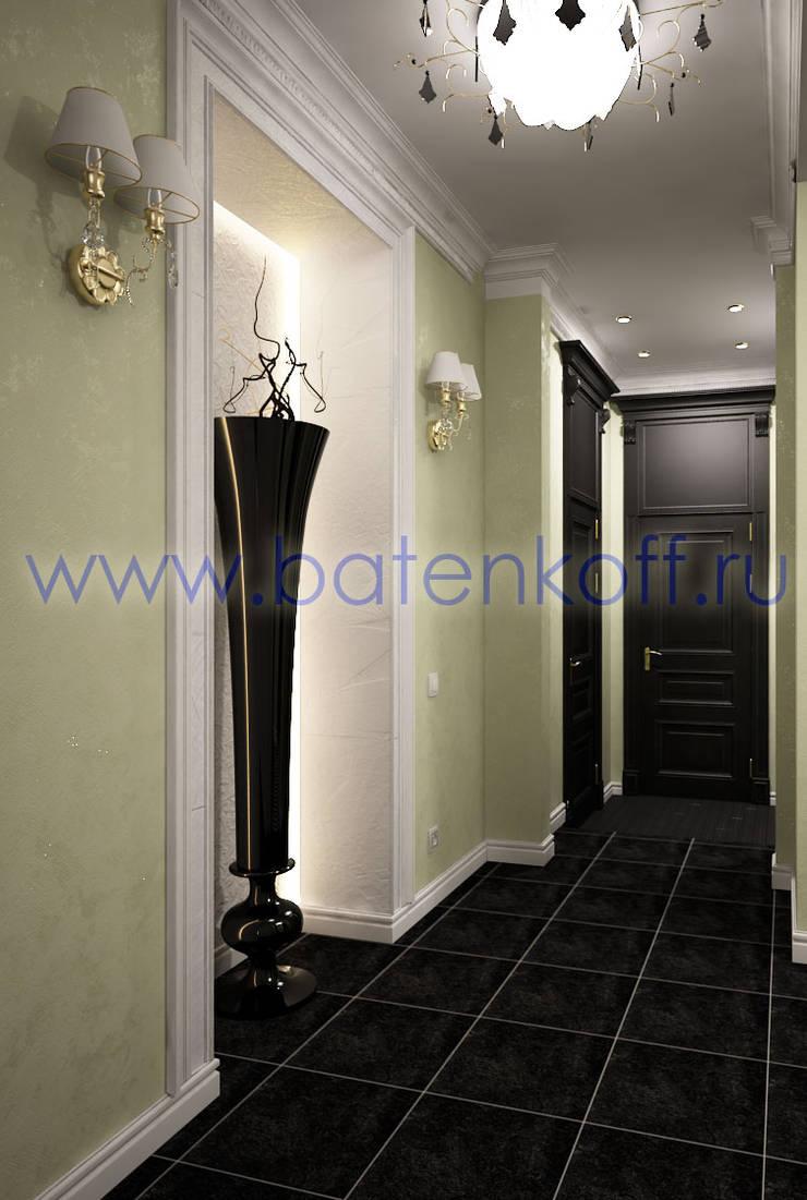 Дизайн проект прихожей: Ванные комнаты в . Автор – Дизайн студия 'Дизайнер интерьера № 1'