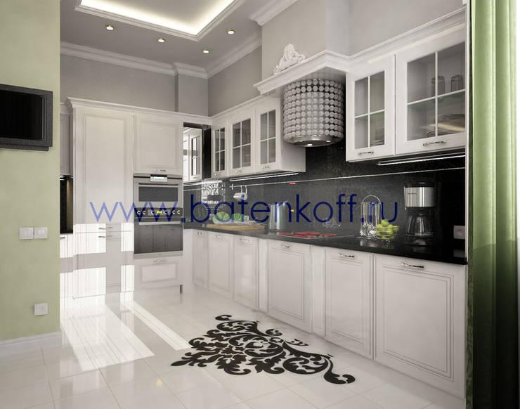Дизайн проект кухни столовой гостиной : Кухни в . Автор – Дизайн студия 'Дизайнер интерьера № 1'