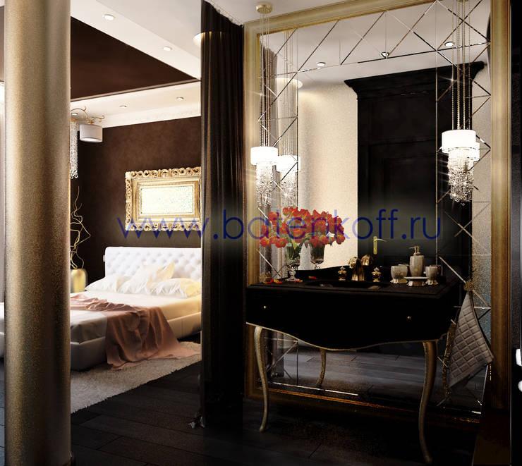 Дизайн проект спальни: Спальни в . Автор – Дизайн студия 'Дизайнер интерьера № 1',