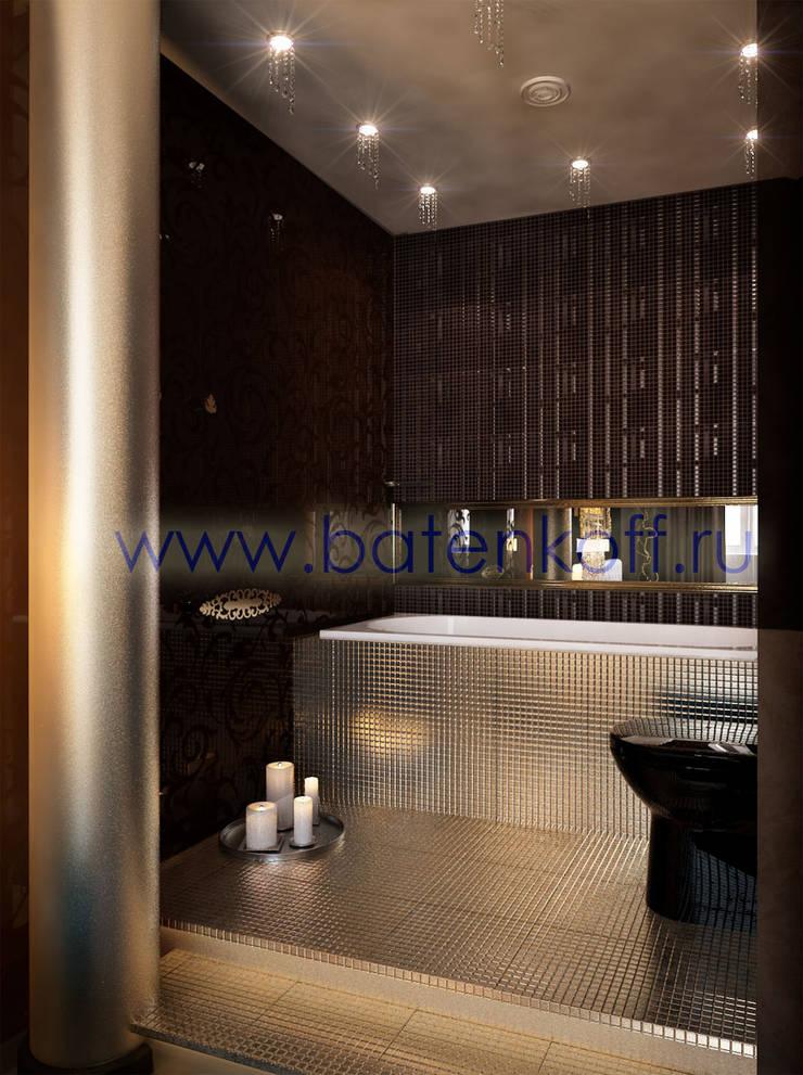 Дизайн проект спальни: Ванные комнаты в . Автор – Дизайн студия 'Дизайнер интерьера № 1',