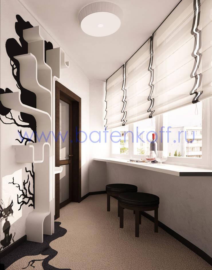 Дизайн проект спальни в квартире ЖК Кольцо Екаткрины : Tерраса в . Автор – Дизайн студия 'Дизайнер интерьера № 1'