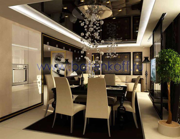 Дизайн проект интерьера гостиной: Столовые комнаты в . Автор – Дизайн студия 'Дизайнер интерьера № 1',
