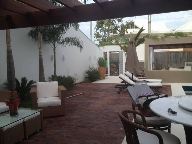 Área de lazer: Terraços  por Studio HG Arquitetura,