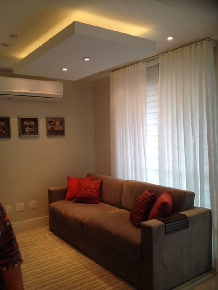Estar: Salas de estar  por Studio HG Arquitetura,Moderno