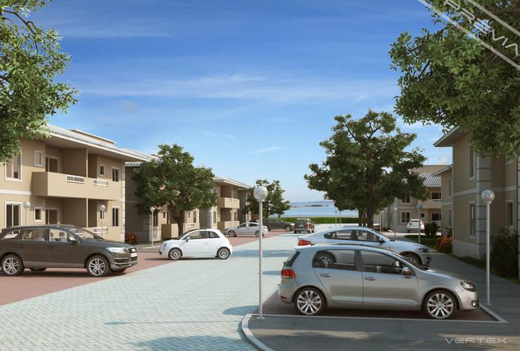 Vista geral : Casas  por Studio HG Arquitetura,