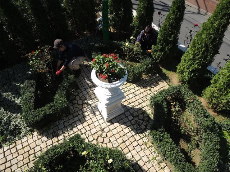 フランス式整形庭園 クラシカルな 庭 の 株式会社冬樹庭園 クラシック
