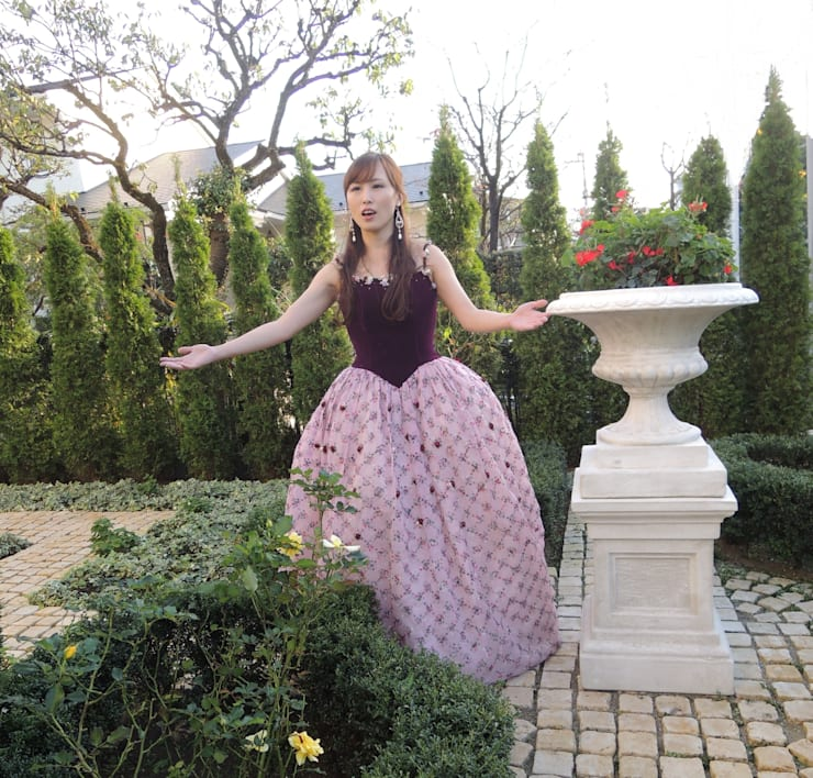 歌庭コラボIN田園調布コンサート クラシカルな 庭 の 株式会社冬樹庭園 クラシック